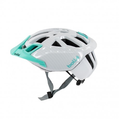 cyklistická prilba Bolle THE ONE ROAD white/mint
